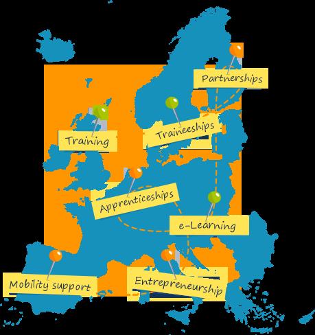 Drop'pin, la nuova rete europea delle opportunità lavorative e formative