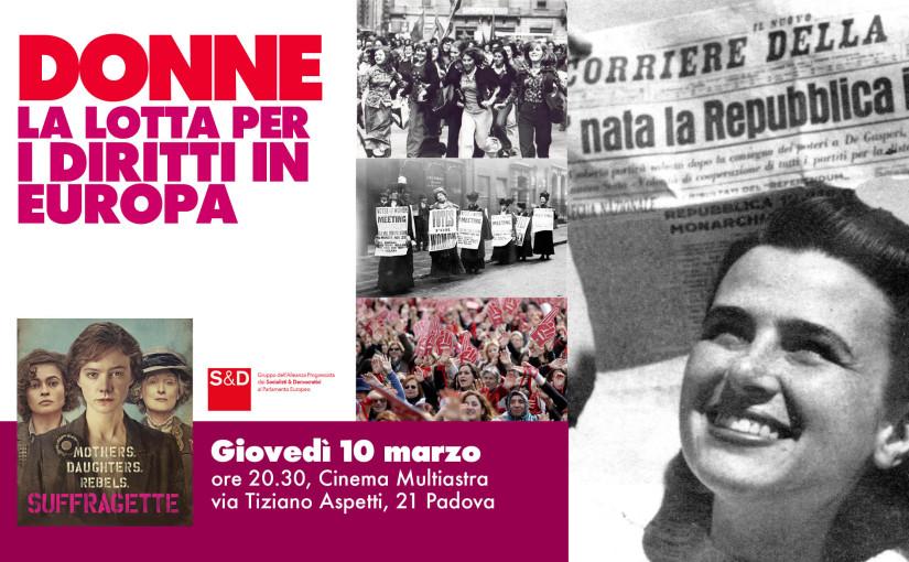 Donne, la lotta per i diritti in Europa.