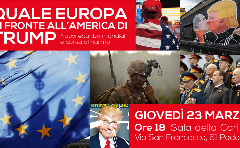Quale Europa di fronte all'America di Trump?