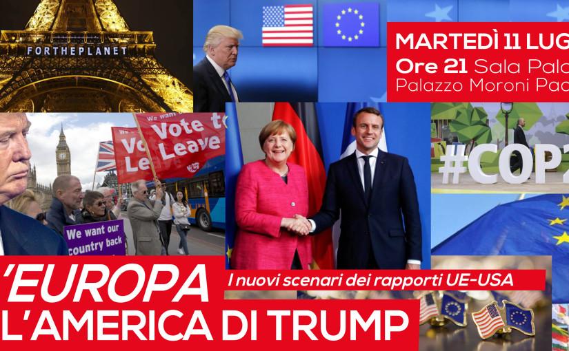L'Europa e l'America di Trump